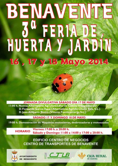 Cartel anunciando la charla sobre Nuevas Alternativas Forestales de Cultivo
