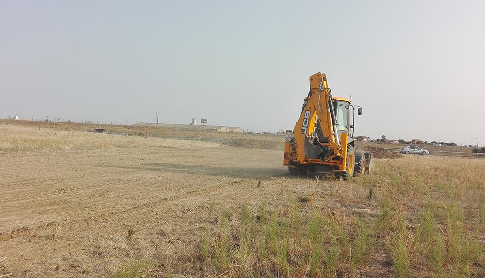 terreno para planta procesadora de pistacho de Esla